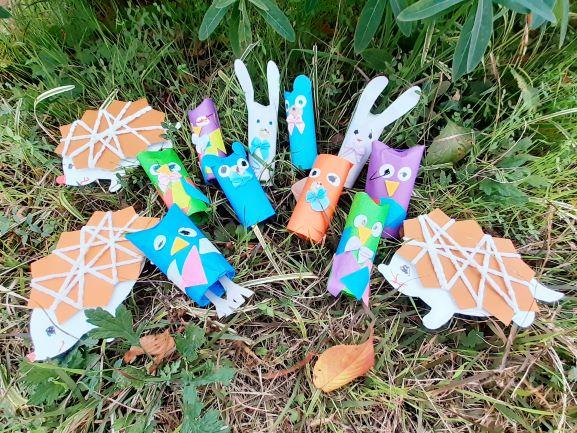 秋の生き物集まれ!